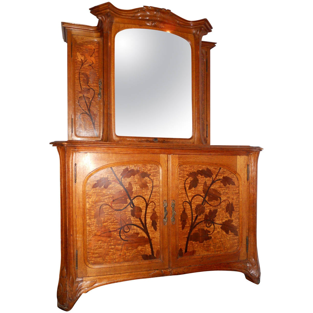 Louis-Maurice-Alphonse Herold Marquetry Collector's Cabinet