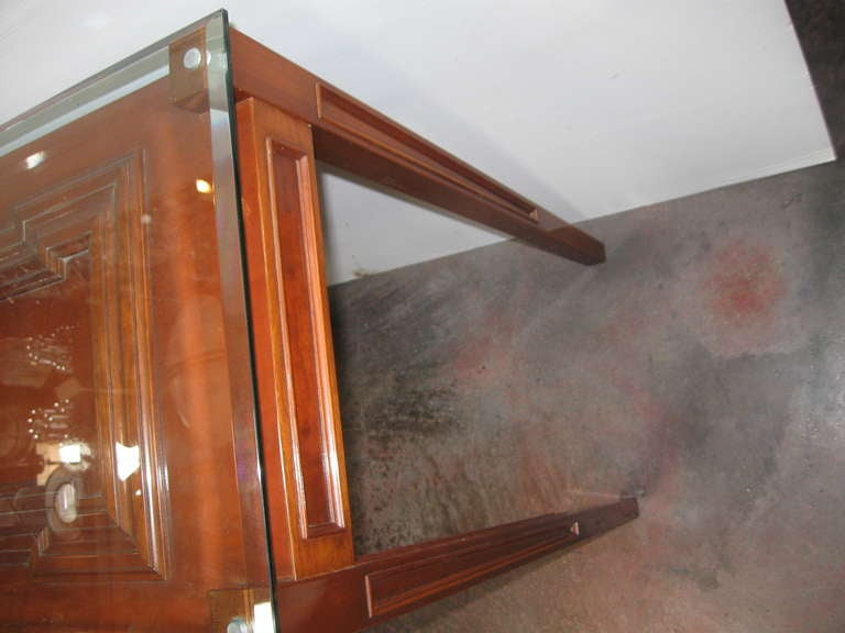 Elegant Custom Console by Paul Laszlo In Excellent Condition For Sale In Los Angeles, CA