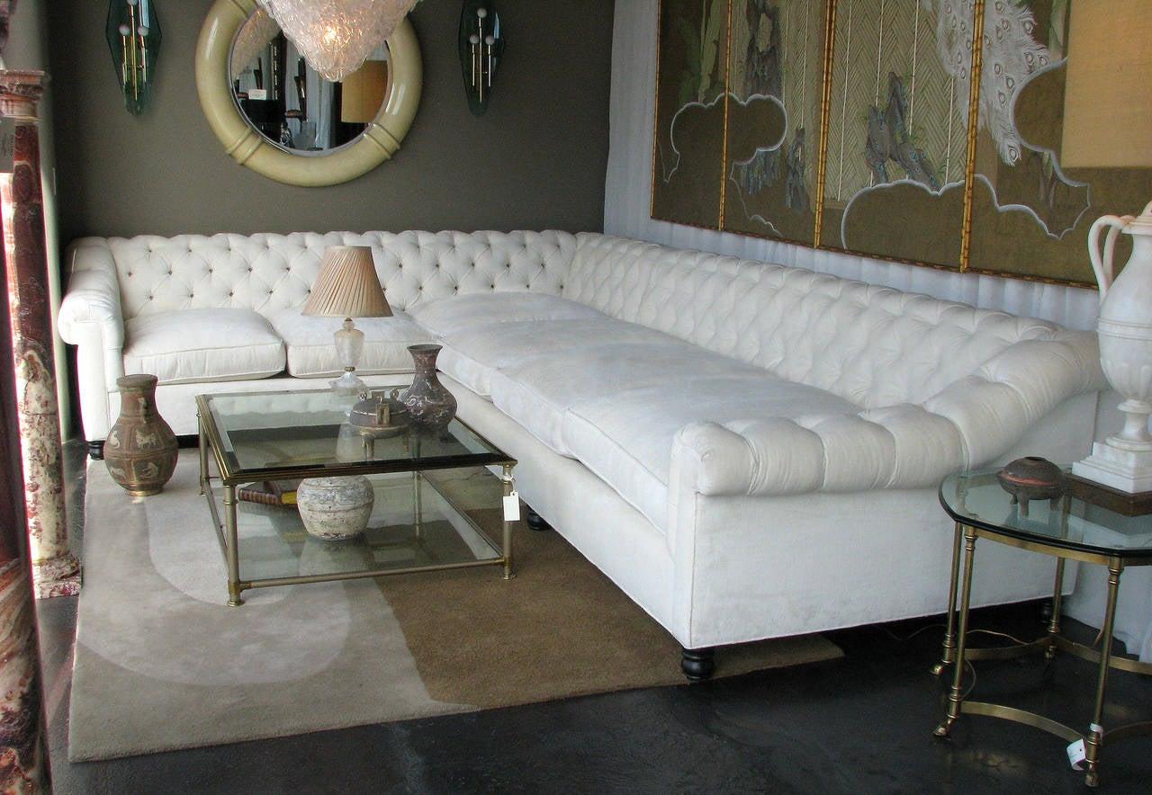 american oversized sectional sofa at 1stdibs. Black Bedroom Furniture Sets. Home Design Ideas