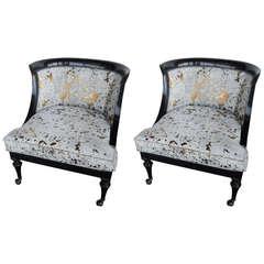 Classy Pair of Italian Chairs