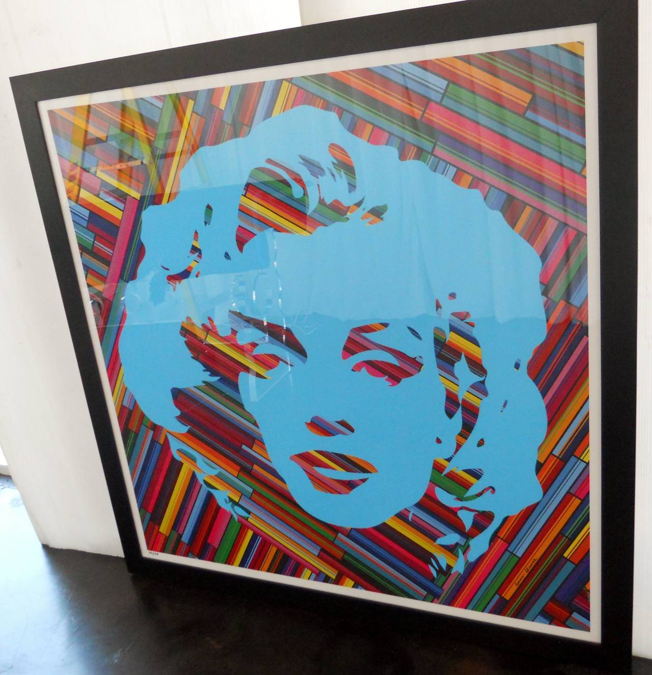 Paper Set of Two Mauro Oliveira Marilyn Monroe Lithographs For Sale