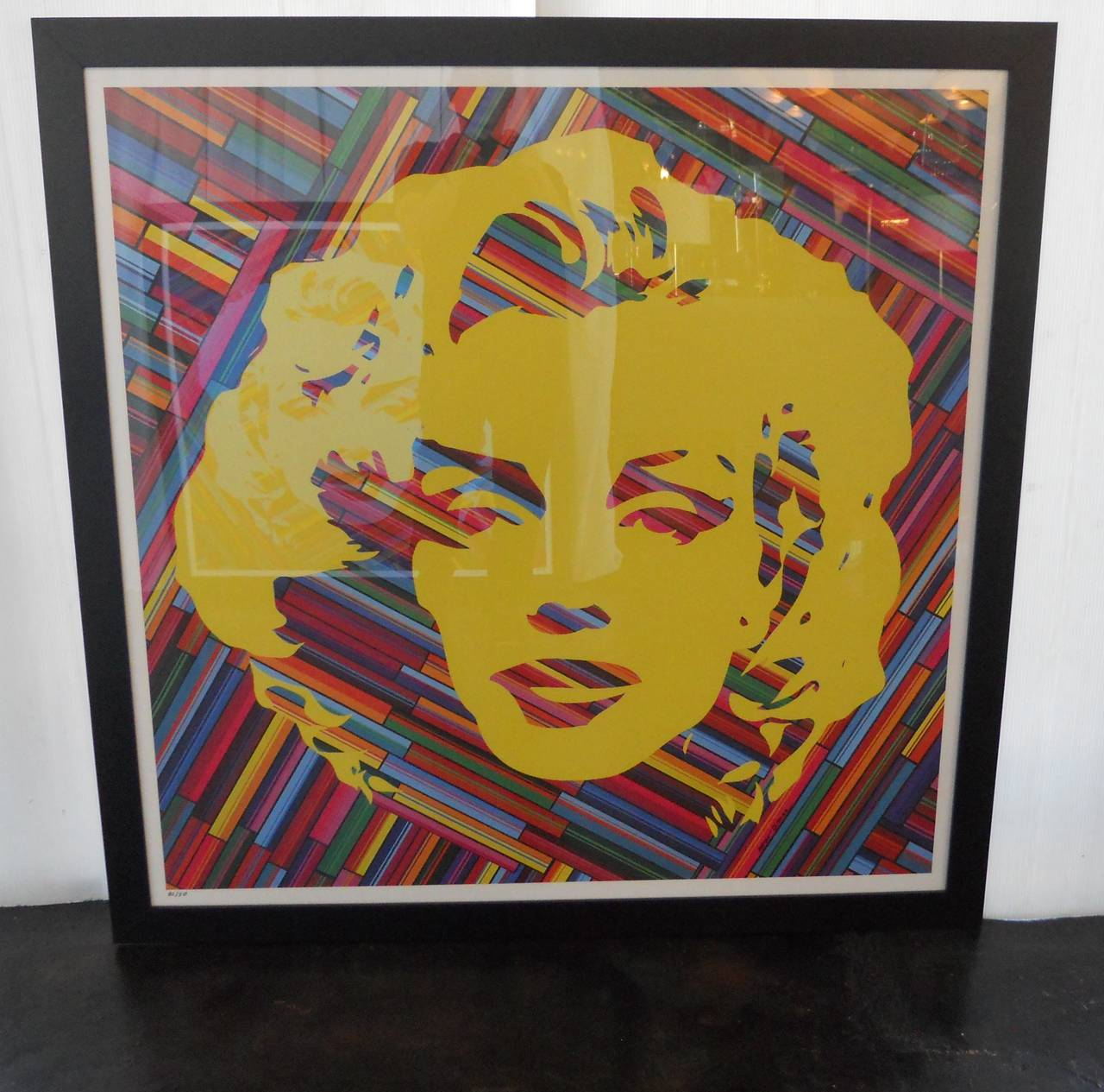 Set of Two Mauro Oliveira Marilyn Monroe Lithographs For Sale 3