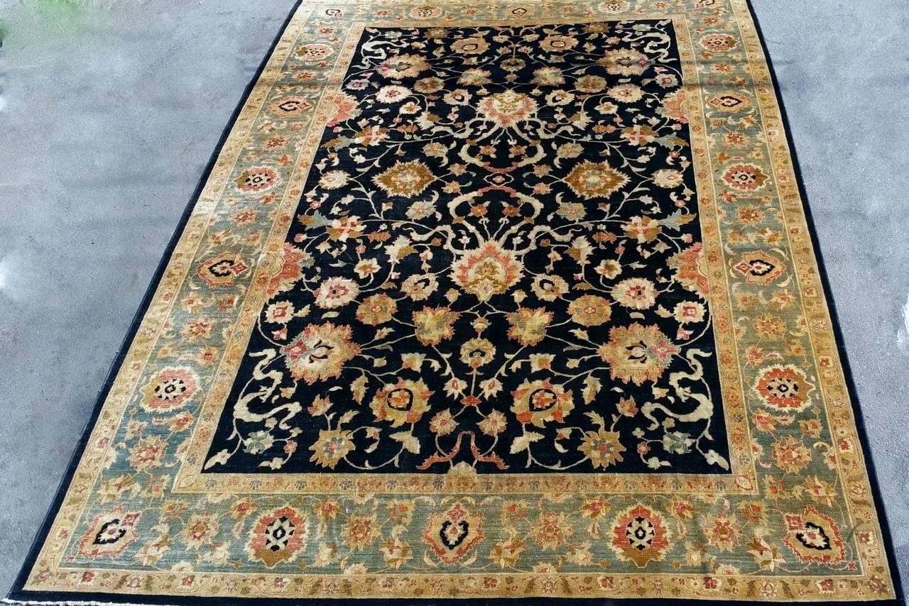 handwoven pakistani rug for sale at 1stdibs