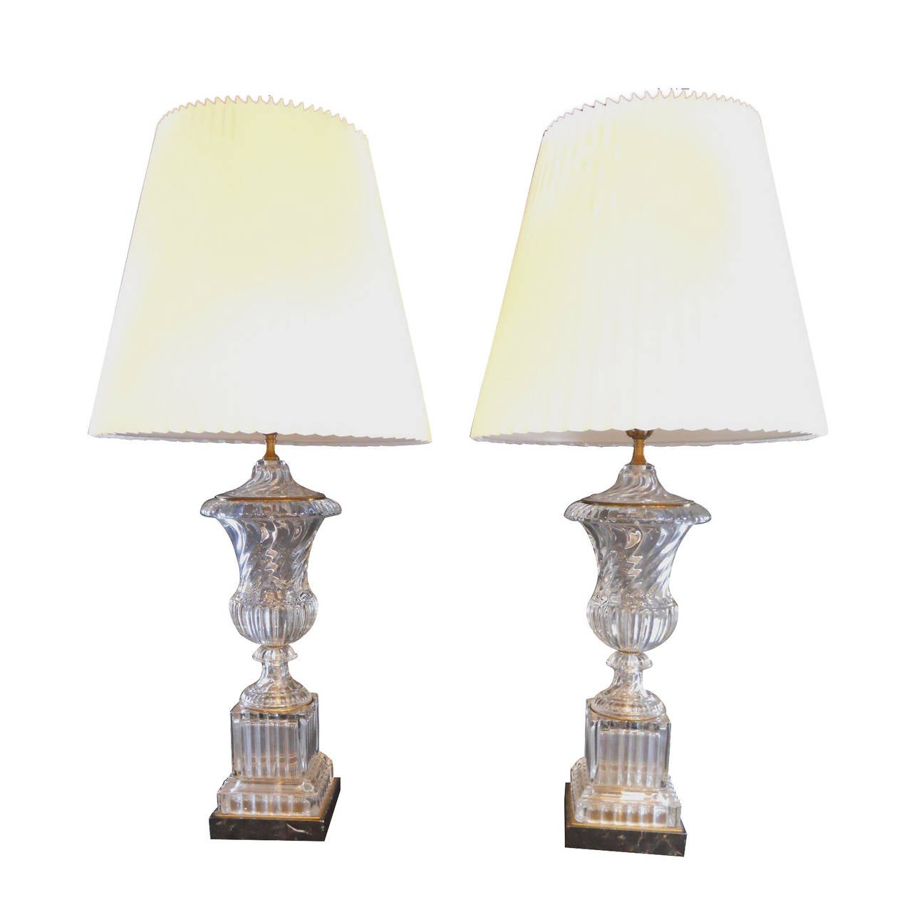 this pair of baccarat table lamps is no longer available. Black Bedroom Furniture Sets. Home Design Ideas