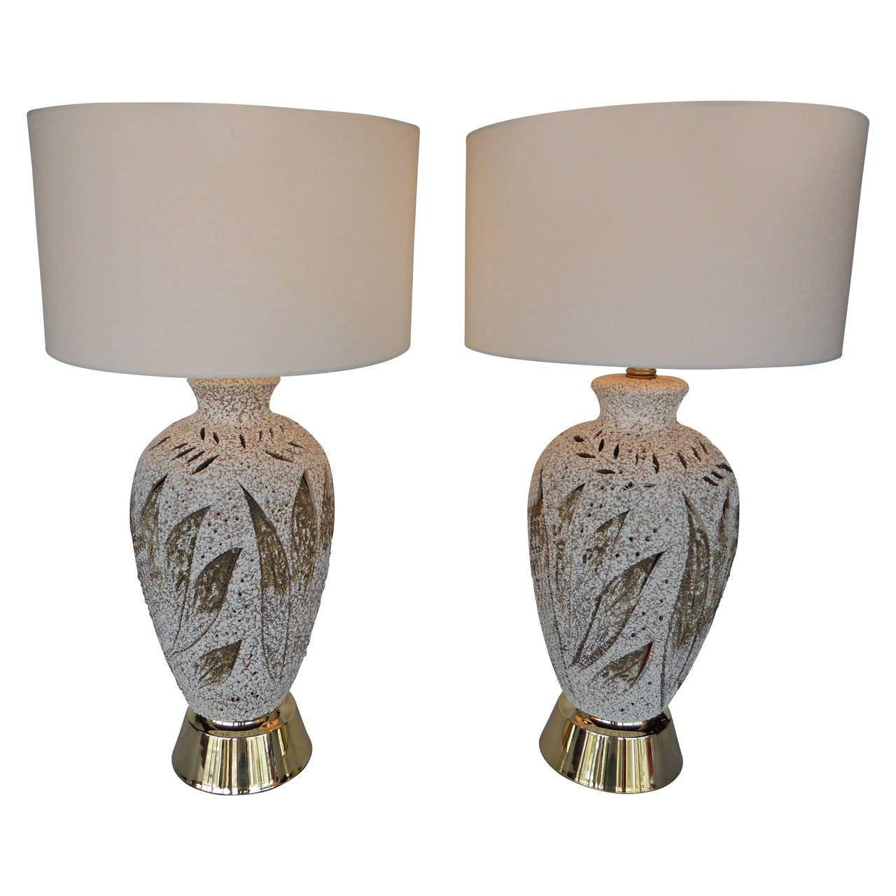 pair of american vintage table lamps for sale at 1stdibs. Black Bedroom Furniture Sets. Home Design Ideas