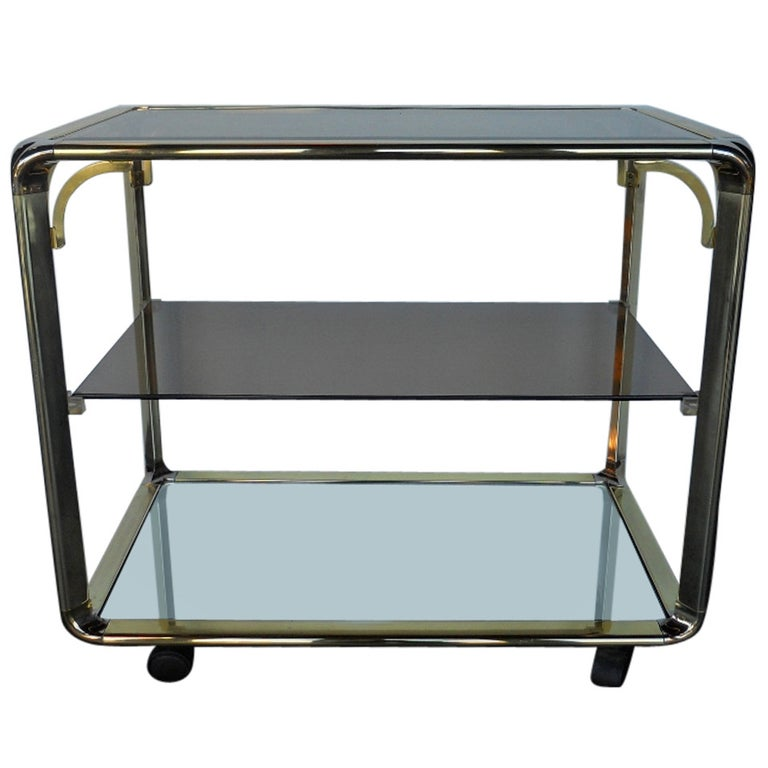 Elegant Vintage Bar Cart