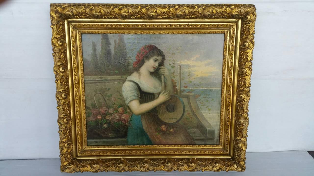 Painting Signed P. Masini 2