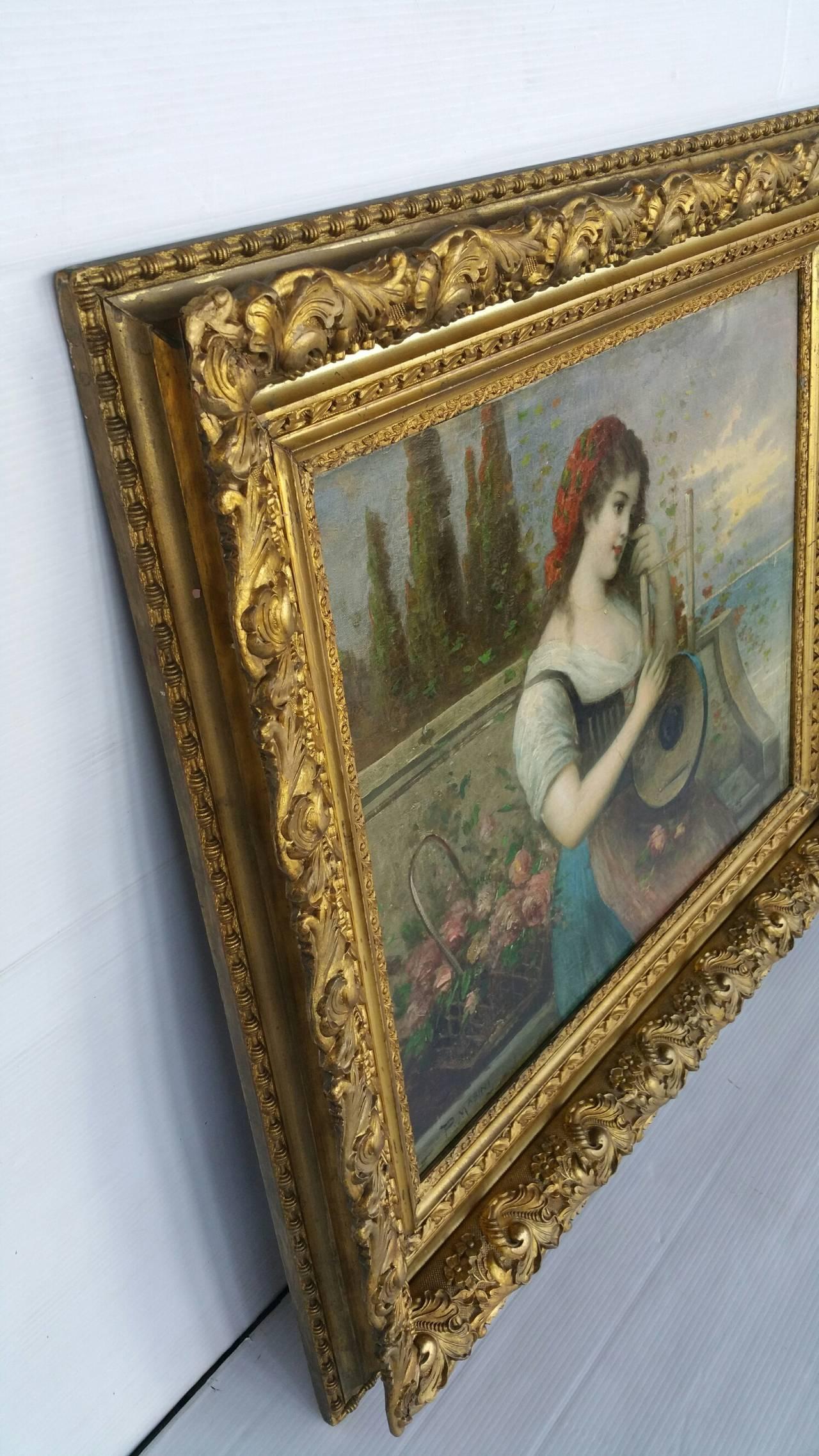 Painting Signed P. Masini 3