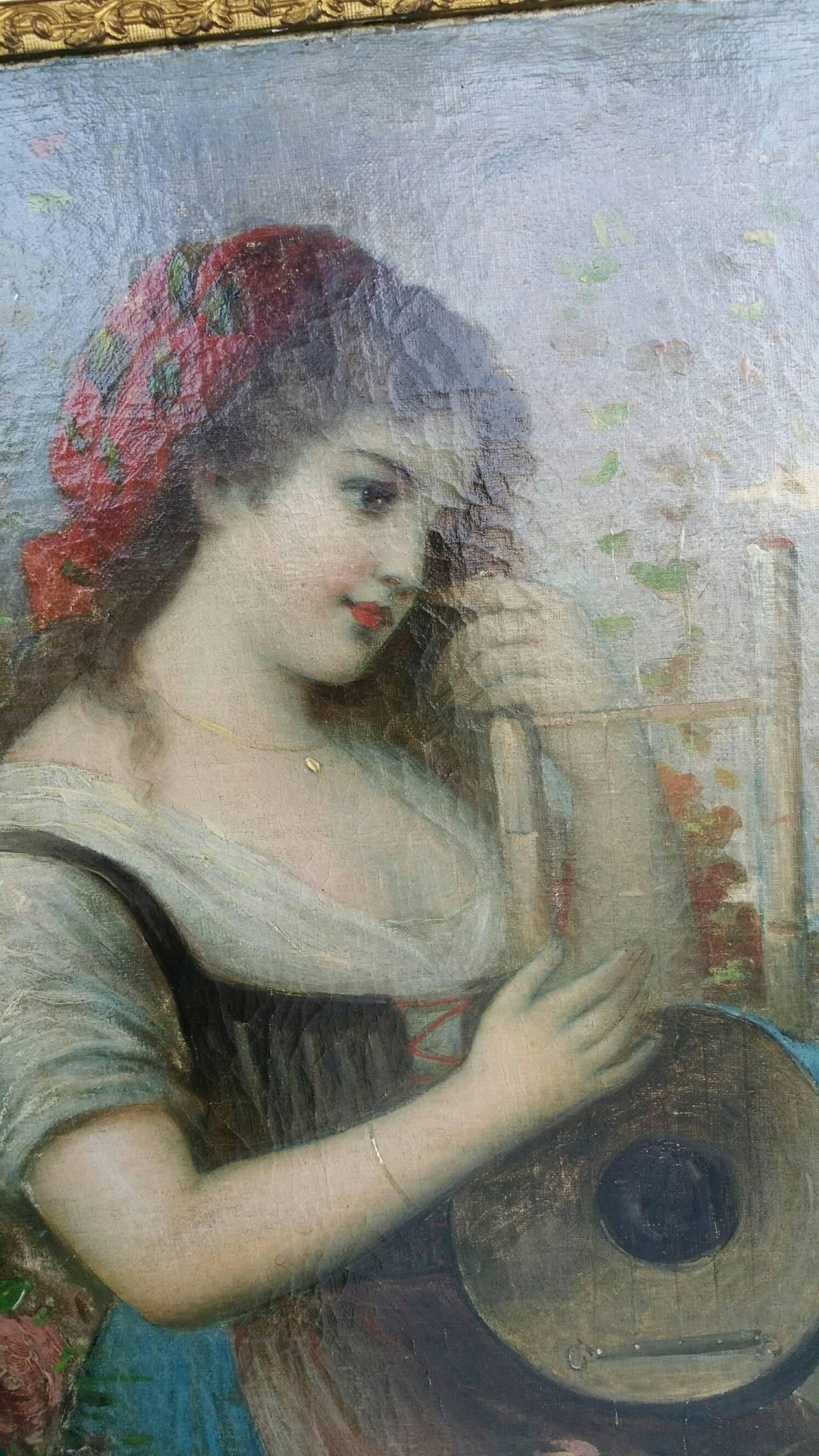Painting Signed P. Masini 7
