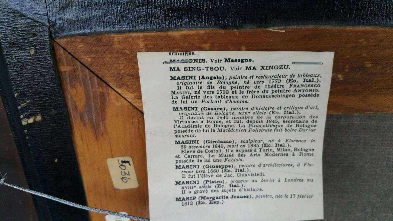 Painting Signed P. Masini 10
