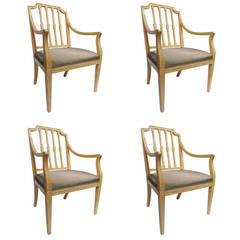 Astonishing Set of Four Rose Tarlow Chairs