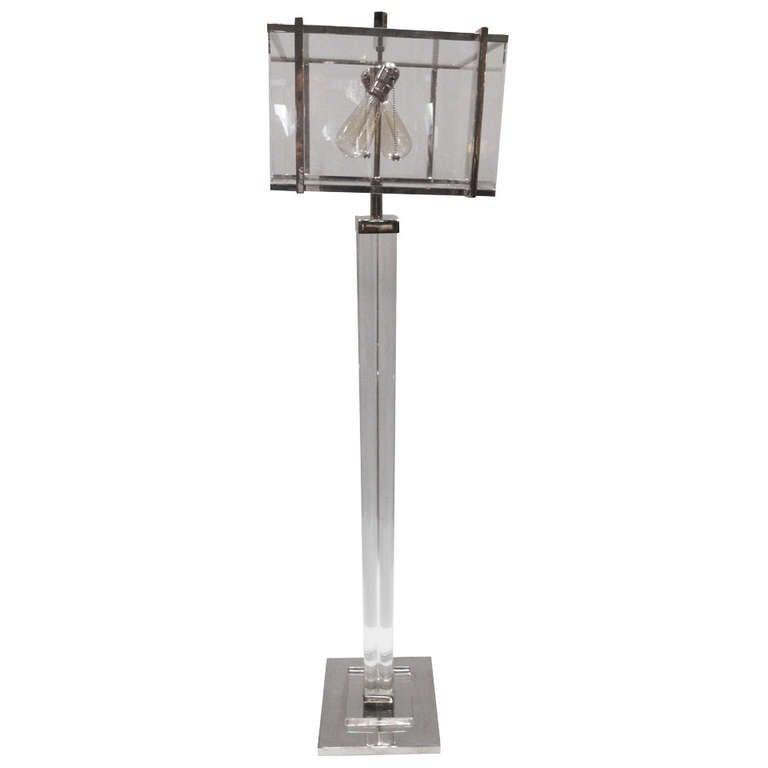 Amazing Charles Hollis Jones Edison Floor Lamp