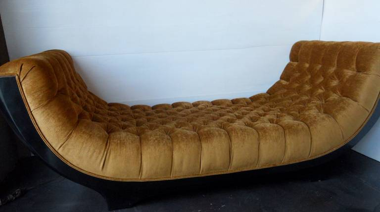 Outstanding Art Deco Chaise Lounge For Sale At 1stdibs