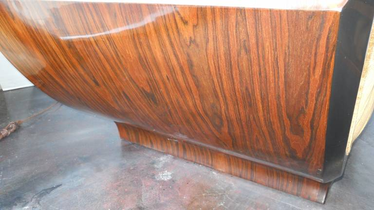 Outstanding art deco chaise lounge for sale at 1stdibs for Art deco chaise lounge