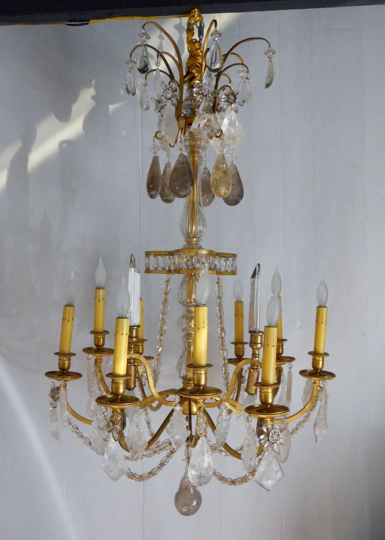 Fabulous French chandelier.