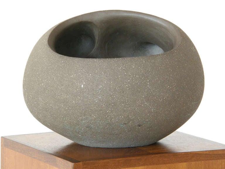 American Dorothy Horton Sculptural Ceramic Floor Vase Anthropomorphic