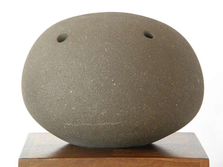 Dorothy Horton Sculptural Ceramic Floor Vase Anthropomorphic