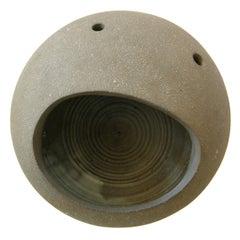 "Dorothy Horton Sculptural Ceramic Floor Vase Anthropomorphic ""Moon Rock"""