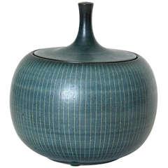 Harrison McIntosh Low Ceramic Jar