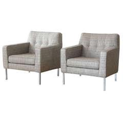 Custom Dunbar Lounge Chairs