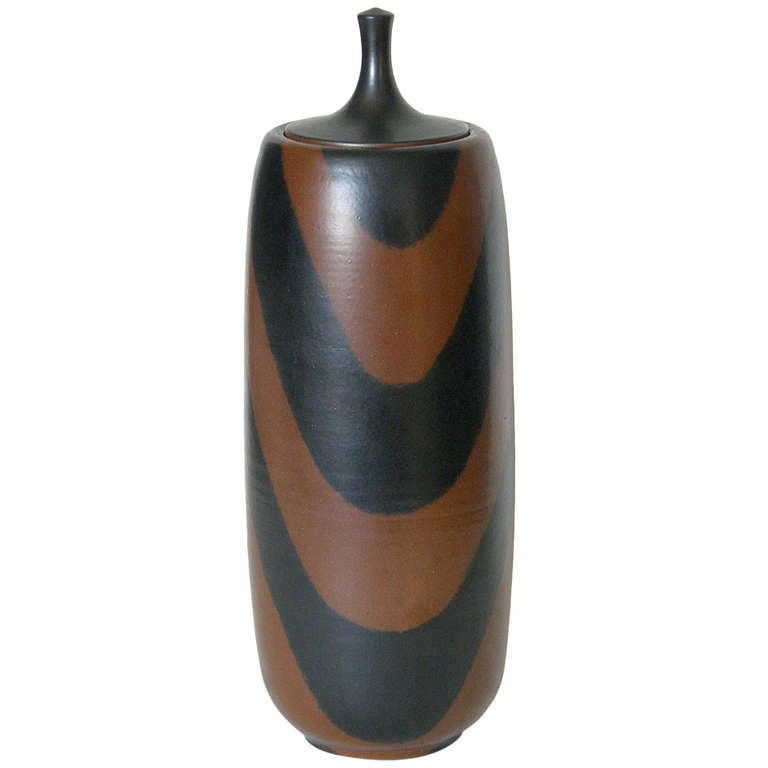 Harrison McIntosh Tall Ceramic Jar