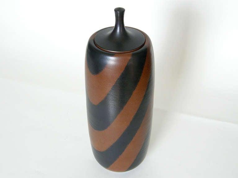 Late 20th Century Harrison McIntosh Tall Ceramic Jar