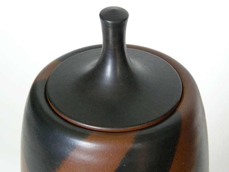 Stoneware Harrison McIntosh Tall Ceramic Jar