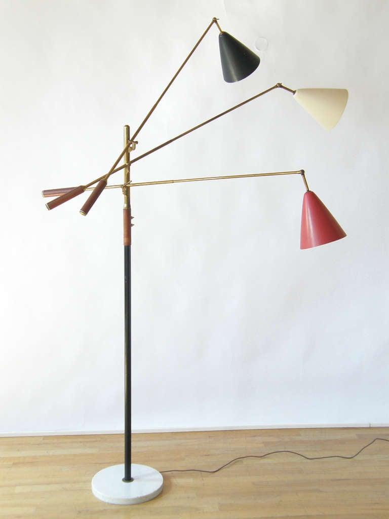 Arredoluce floor lamp at 1stdibs for Arredo luce