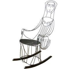 John Risley Lady Rocking Chair