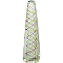 Venini Murano Glass Obelisk Sculpture