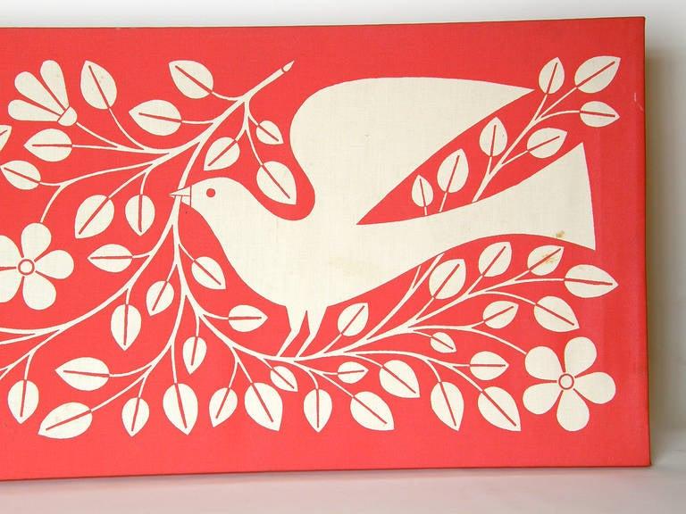 Alexander Girard Hand and Dove Wall Panel 5