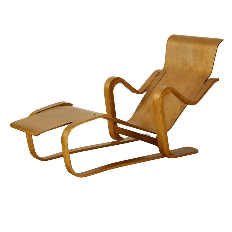 marcel breuer plywood lounge at 1stdibs. Black Bedroom Furniture Sets. Home Design Ideas