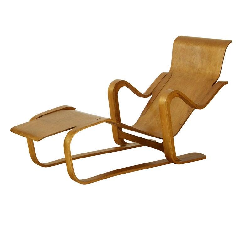 Marcel Breuer Plywood Lounge at 1stdibs