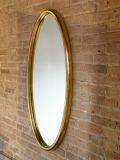 Gilt Oval Mirror image 2