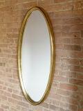 Gilt Oval Mirror image 3