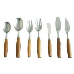 Jens Quistgaard flatware, service for eight
