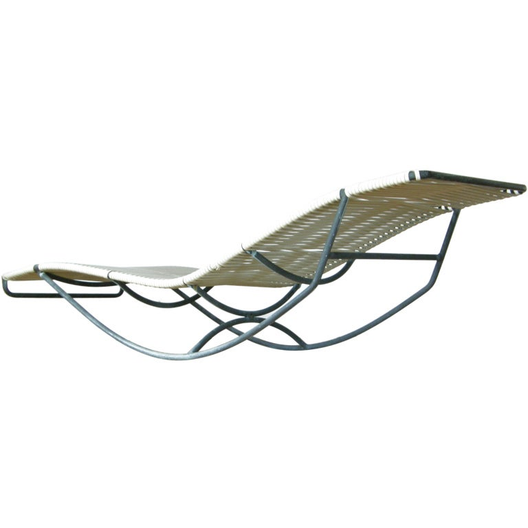 Walter lamb rocking chaise at 1stdibs for Chaise x rocker