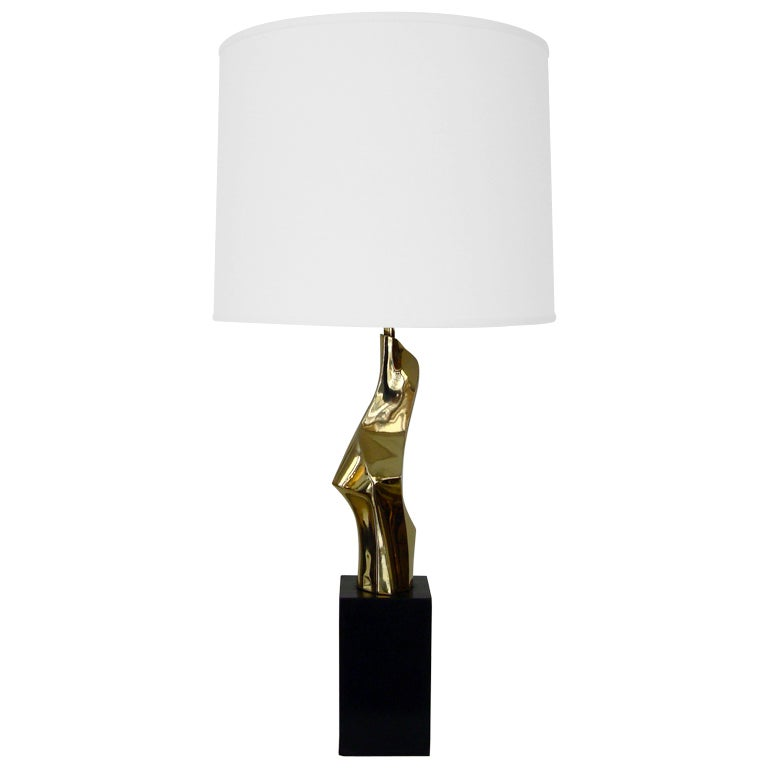 Abstract Sculptural Table Lamp by Maurizio Tempestini for Laurel Lamp 1