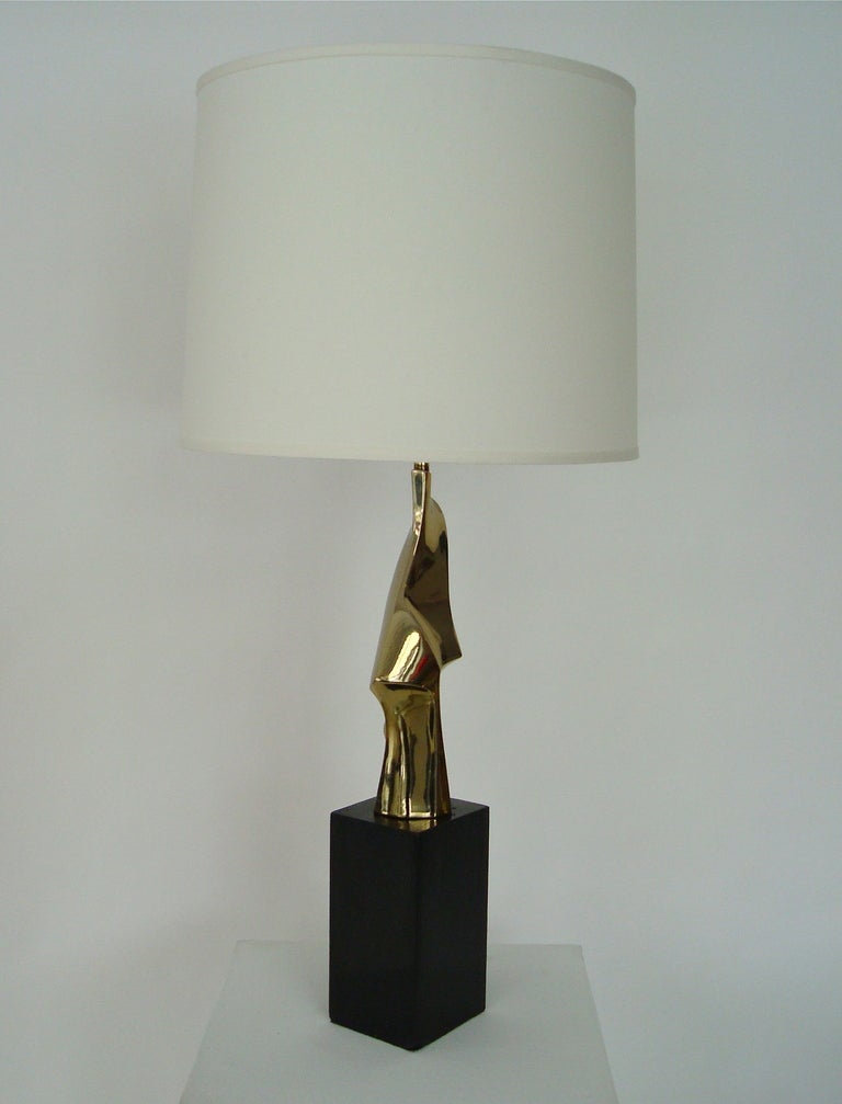 Abstract Sculptural Table Lamp by Maurizio Tempestini for Laurel Lamp 2
