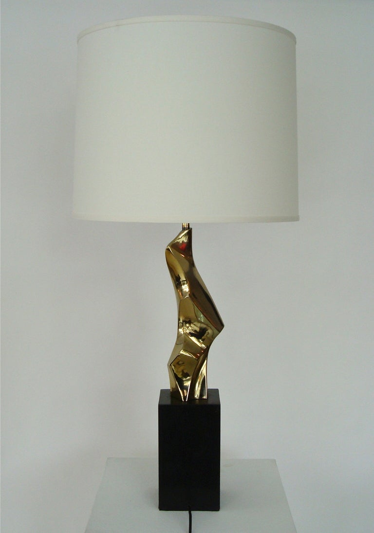 Abstract Sculptural Table Lamp by Maurizio Tempestini for Laurel Lamp 3