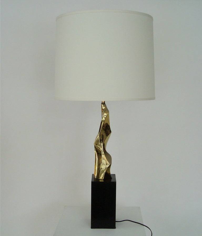 Abstract Sculptural Table Lamp by Maurizio Tempestini for Laurel Lamp 4