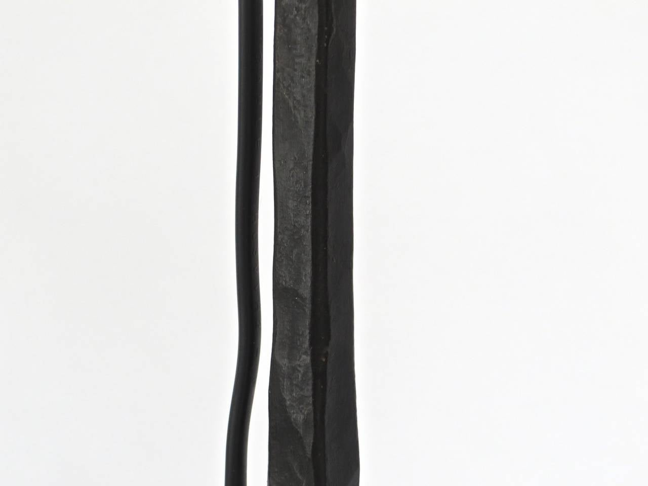 Minimalist Style Hand Wrought Iron French Floor Lamp With