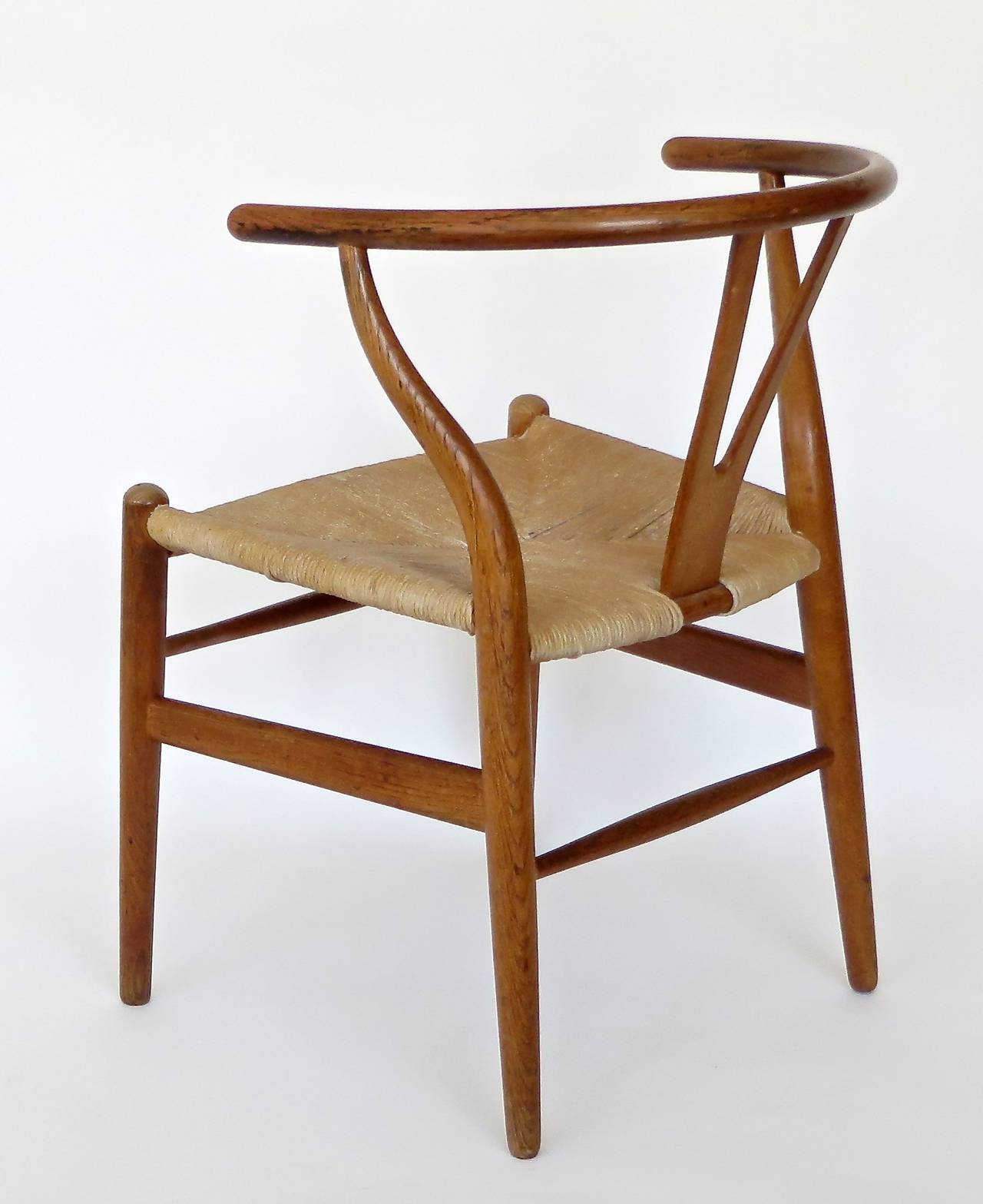 Danish CH 24 Wishbone Chair by Hans Wegner at 1stdibs