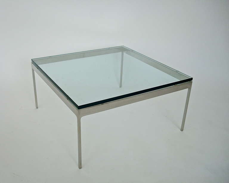 Mid-Century Modern Low Coffee or Side Table by Nicos Zographos For Sale