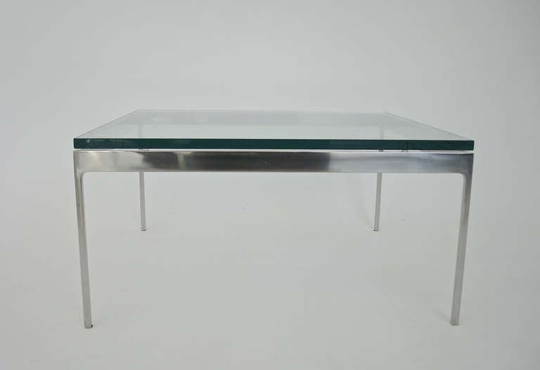 American Low Coffee or Side Table by Nicos Zographos For Sale