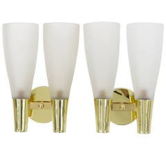 Pair of Sconces by Pietro Chiesa for Fontana Arte