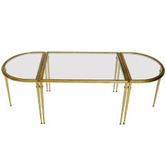French Coffee Table by Roger Thibier