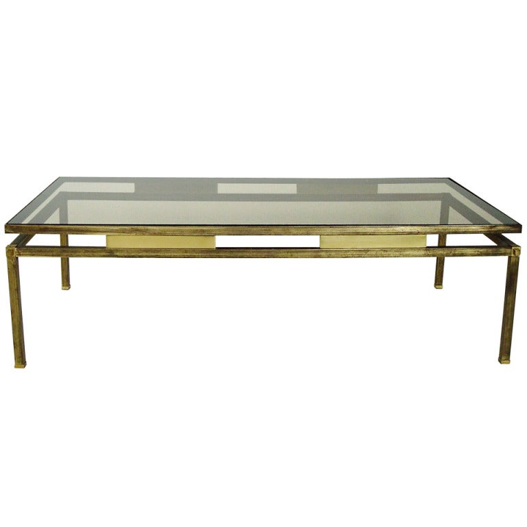French Coffee Table By Maison Jansen At 1stdibs