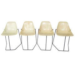 French Chairs by Rene-Jean Caillette.