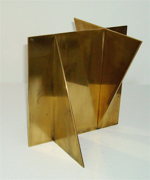 Brass Sculpture signed Wuytack image 2